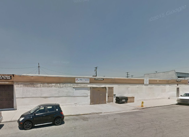 Pomona Warehouse Space for Rent - 977 E 2nd Street